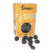 organic chocolate candied oranges