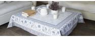 Tapis chic pour table basse, en format carré ou rectangulaire