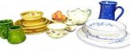 Vaisselle en ligne - Poterie artisanale en faience provencale signée