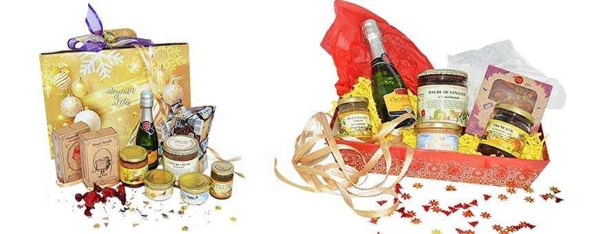 Coffrets Gourmands Spécial Noël - 100% artisanal - Que du bon !