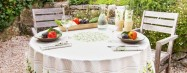 Easter and spring fine table linens and home decor