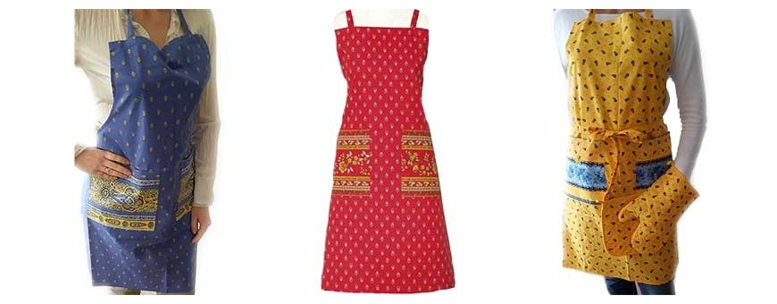 Our baking aprons available: aprons for men or women's cooking aprons