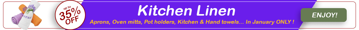 Discount kitchen linen