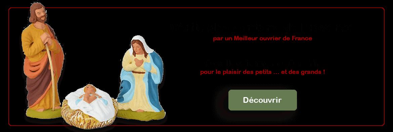 véritables santons de Provence