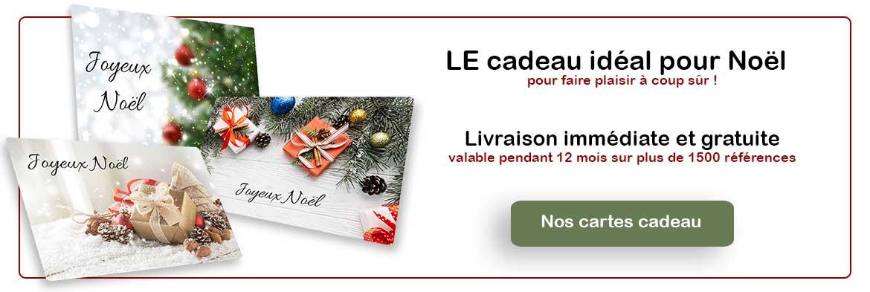 carte cadeau spécial Noël
