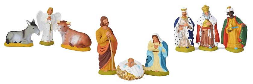 Santons of nativity