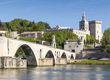 Avignon recent: the palace of the Popes