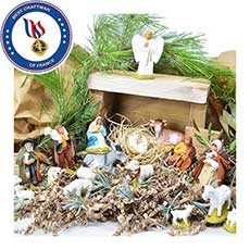 Christmas santons