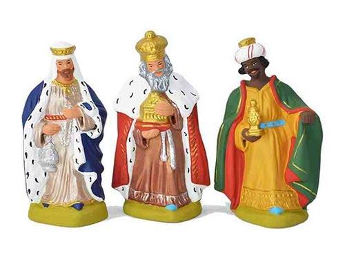 les rois mage - santons de Provence