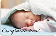Gift card Birth