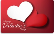 Gift card Valentin's day