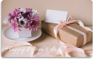 Gift card Mother's day