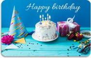Gift card Birthday